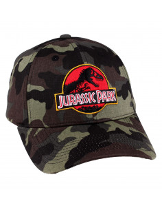 Casquette Jurassic Park - Camouflage Logo
