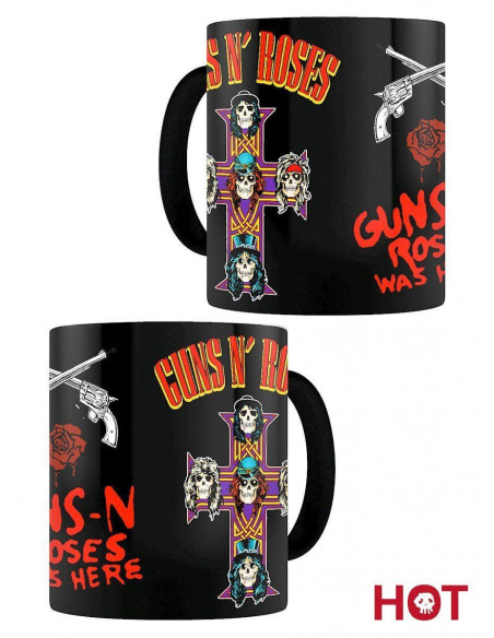 Mug Magic Guns N' Roses - Cross