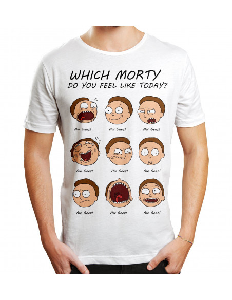 T-shirt Rick et Morty - Which Morty