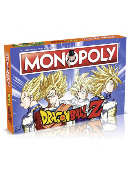 Dragon Ball Z Monopoly - French Version