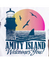 T-shirt Jaws - Amity Island Welcome you
