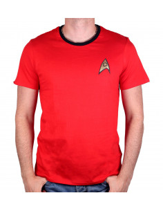 T-shirt Star Trek - Costume Scott Red