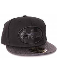 Batman Cap DC Comics - Leather Symbol