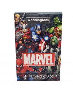 Jeu de cartes - Univers Marvel Waddingtons N 1