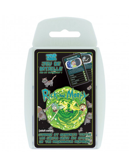 Top Trumps Jeu de Bataille Rick et Morty