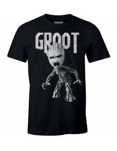 T-shirt Les Gardiens de la Galaxie Marvel - Anger Groot