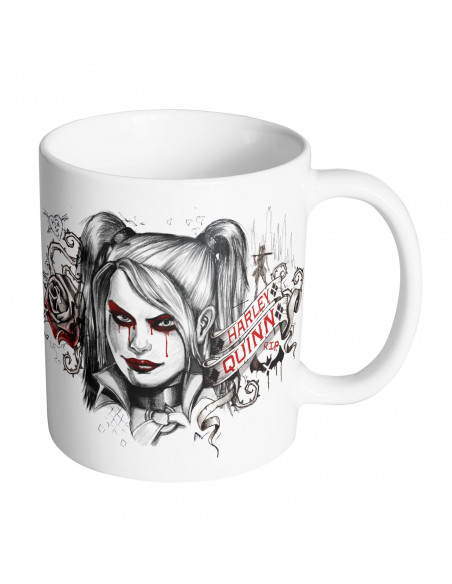 Mug Batman DC Comics - Harley Quinn Face