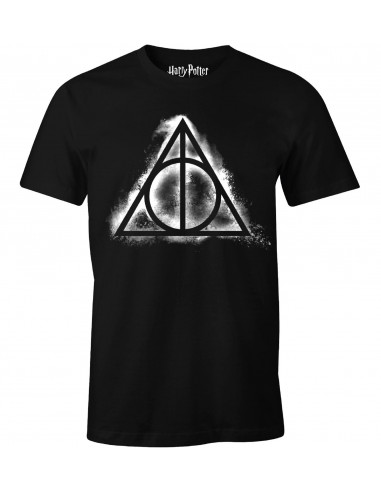 Harry Potter T-shirt - Deathly Hallows Smoke