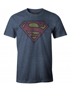 T-shirt Superman DC Comics - Vintage Grunge Logo