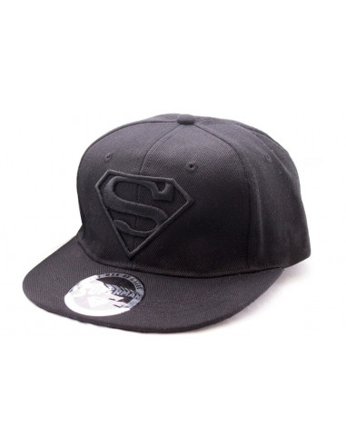 Casquette snapback Superman - Black Logo - Legend Icon