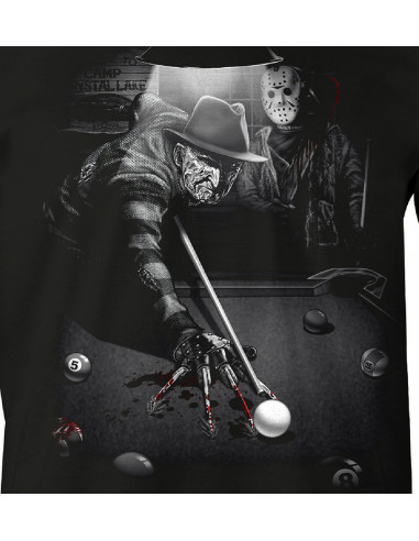 T-shirt Vendredi 13 - Freddy & Jason Billard