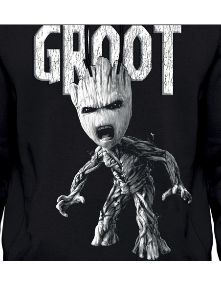 Sweat-shirt Les Gardiens de la Galaxie Vol. 2 - Angry Groot