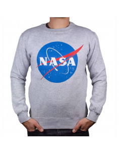 NASA Sweatshirt - NASA Logo Grunge