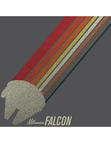 T-shirt Solo: A Star Wars Story - Rainbow Falcon