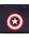 Captain America Marvel Grunge Cap - Captain Logo