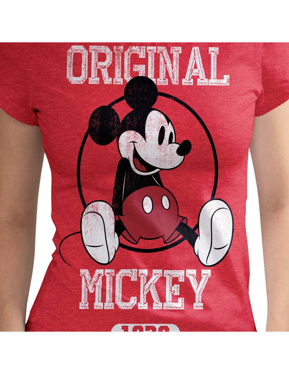 T-shirt-Femme-Disney-Original-Mickey miniature 2