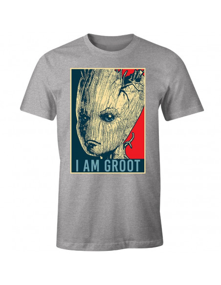 [PRECO] T-Shirt Groot Marvel - I am Groot