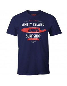 Jaws T-shirt - Amity Island Surf Shop