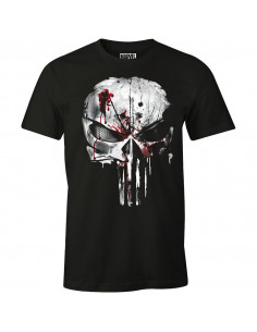 The Punisher Marvel T-shirt - Bloody Skull