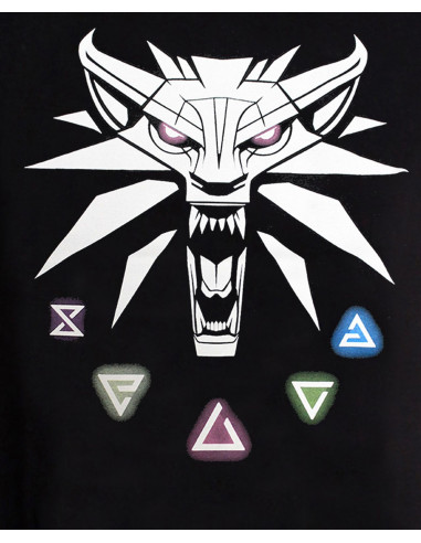 The Witcher 3 T-shirt - Signs of the Witcher