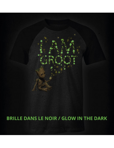 Guardians of the Galaxy Vol. 2 T-Shirt Marvel - I Am Groot