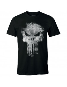 The Punisher Marvel T-shirt - Punisher Distress Skull