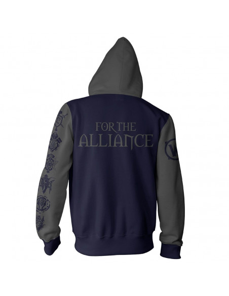 World of Warcraft Zipped Sweatshirt - Alliance Pride