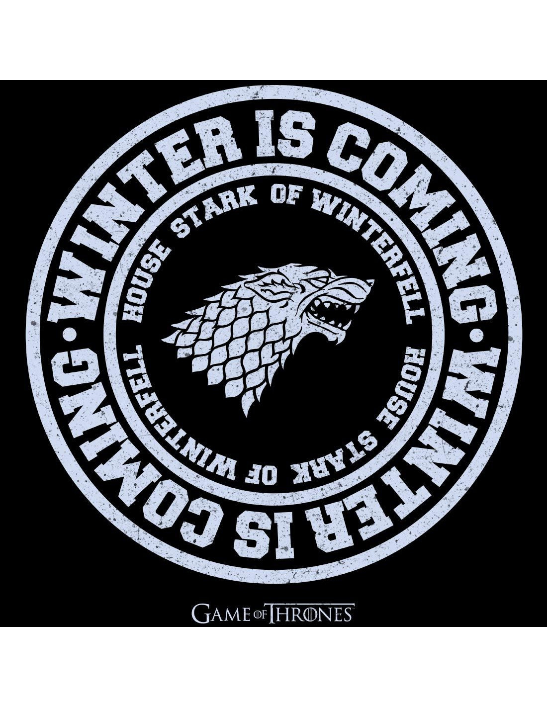T-shirt-Femme-Game-of-Thrones-Winter-is-Coming miniature 2