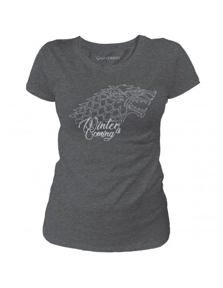 T-shirt Femme Game of Thrones - Winter is Coming