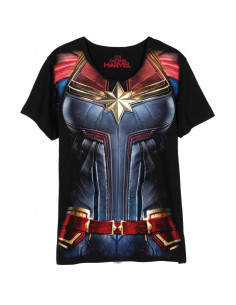 T-shirt Femme Captain Marvel - Captain Marvel Costume