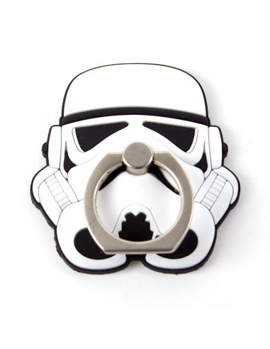 Star Wars Smartphone Holder and Handle - Stormtrooper Ring Stent