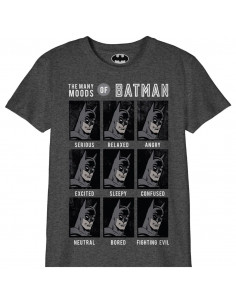 T-shirt Enfant DC Comics - The Many Moods of Batman
