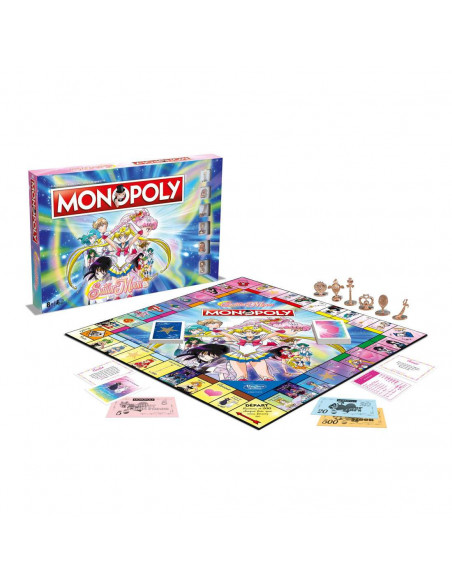 Monopoly - Sailor Moon - Board game - French version