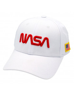 NASA Baseball Cap - Red Logo
