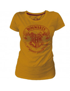 T-shirt Femme Harry Potter - Hogwarts Blazon