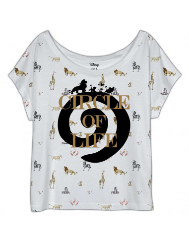 The Lion King Disney Woman's T-shirt - Circle of Life