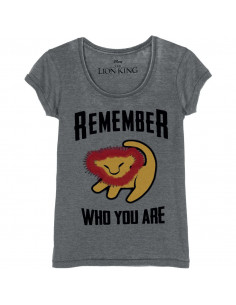 T-shirt Femme Disney Le Roi Lion - Remember Who You Are