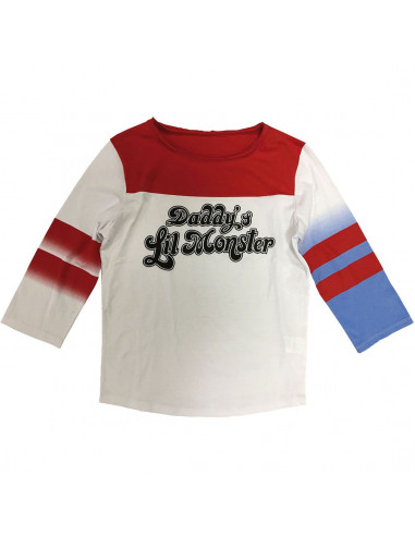 T-shirt Femme Sucide Squad DC Comics - Daddy's Lil Monsters