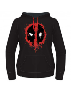 Deadpool Marvel Woman's Sweatshirt - Destroy Face Sweat
