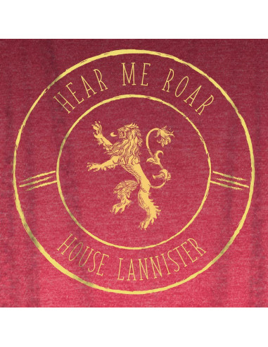 Game of Thrones Woman's Tank Top - Lannister Warrior