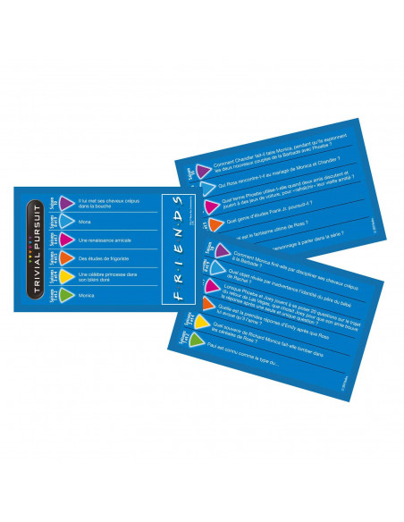 Trivial Pursuit Friends - Travel Format - French Version