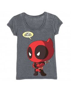 Deadpool Marvel Woman's T-shirt - Chiby Deadpool