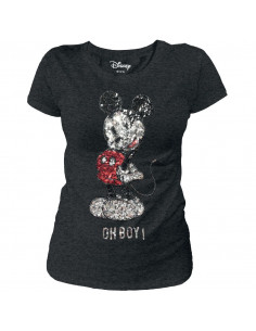 Disney Mickey Woman's T-shirt - Oh Boy !