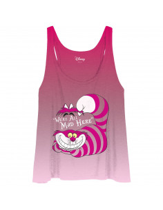 Débardeur Femme Alice Disney - Mad Cheshire Cat