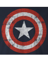 T-shirt Captain America Marvel - The Shield