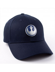 Star Wars Cap - Rebel Metal Badge