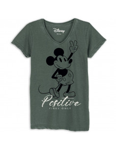 Disney Mickey Women's T-shirt - Mickey Positive