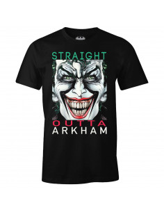 DC Comics The Joker T-shirt - Straight Outta Arkham