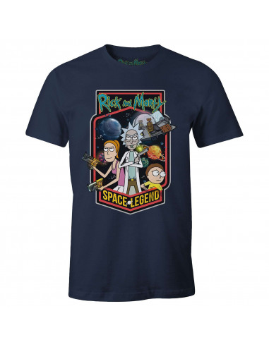 Rick & Morty T-shirt - Space Legend