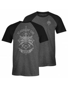 T-shirt The Witcher - School of the wolf